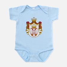 Serbia Coat Of Arms Infant Bodysuit