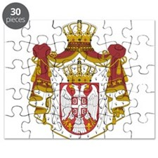 Serbia Coat Of Arms Puzzle