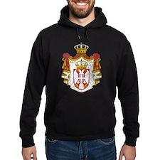 Serbia Coat Of Arms Hoodie
