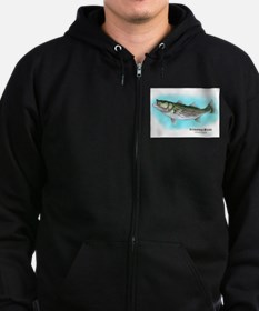 Striped Bass Zip Hoodie