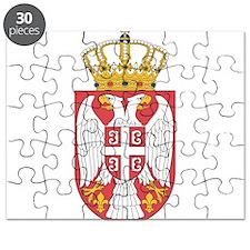 Serbia Lesser Coat Of Arms Puzzle