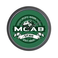 Moab Forest Wall Clock