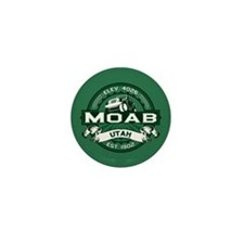 Moab Forest Mini Button