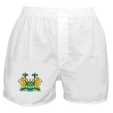 Sierra Leone Coat Of Arms Boxer Shorts