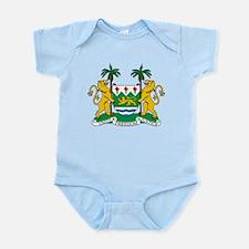Sierra Leone Coat Of Arms Infant Bodysuit