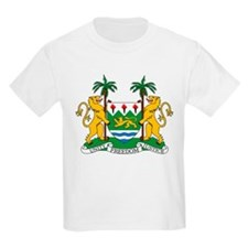Sierra Leone Coat Of Arms T-Shirt