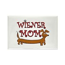 Wiener Mom/Oktoberfest Rectangle Magnet