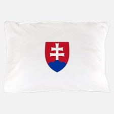 Slovakia Coat Of Arms Pillow Case