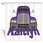 Trucker Kaitlyn Shower Curtain