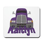 Trucker Kaitlyn Mousepad
