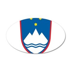 Slovenia Coat Of Arms Wall Decal