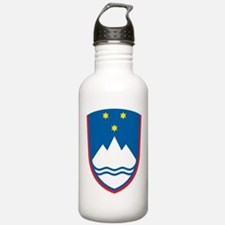 Slovenia Coat Of Arms Water Bottle