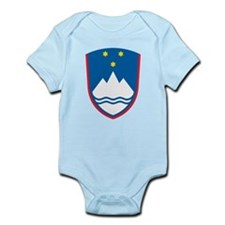 Slovenia Coat Of Arms Infant Bodysuit