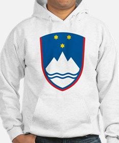 Slovenia Coat Of Arms Jumper Hoody