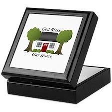 God Bless Our Home Keepsake Box