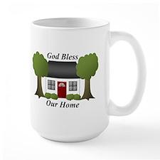 God Bless Our Home Mug