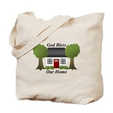 God Bless Our Home Tote Bag