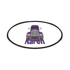 Trucker Karen Patches