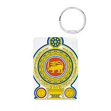 Sri Lanka Coat Of Arms Keychains