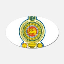 Sri Lanka Coat Of Arms Wall Decal