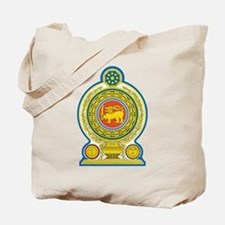 Sri Lanka Coat Of Arms Tote Bag