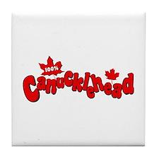 Canucklehead Tile Coaster
