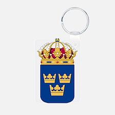 Sweden Lesser Coat Of Arms Keychains