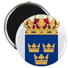Sweden Lesser Coat Of Arms Magnet