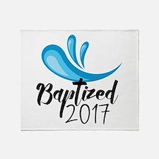 Baptized 2017 Throw Blanket