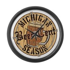 Beer Tent Large Wall Clock