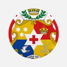 """Tonga Coat Of Arms 3.5"""" Button (100 pack)"""