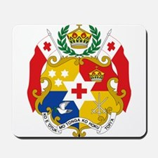 Tonga Coat Of Arms Mousepad