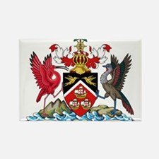 Trinidad and Tobago Coat Of Arms Rectangle Magnet