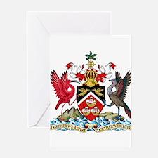 Trinidad and Tobago Coat Of Arms Greeting Card