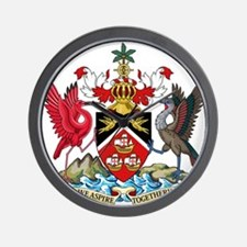 Trinidad and Tobago Coat Of Arms Wall Clock