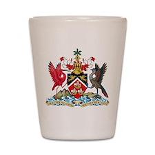 Trinidad and Tobago Coat Of Arms Shot Glass