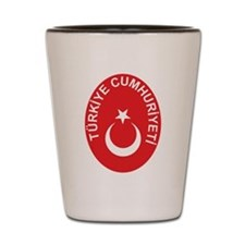 Turkey Coat Of Arms Shot Glass