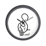 Too Cool Cat Wall Clock