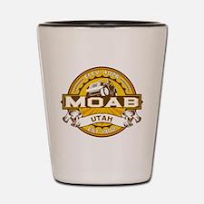 Moab Gold Shot Glass