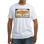Cambodia Grand Hotel Fitted T-Shirt
