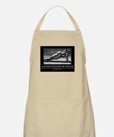 A good partner or spouse Apron