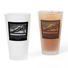A good partner or spouse Drinking Glass