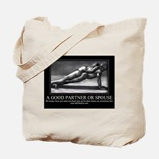 A good partner or spouse Tote Bag