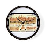 Cambodia Grand Hotel Wall Clock