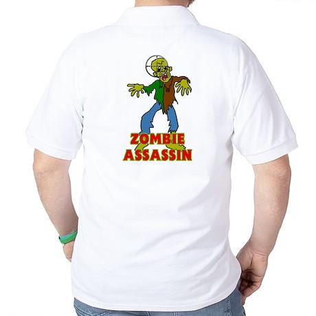 ZOMBIE ASSASSIN Golf Shirt
