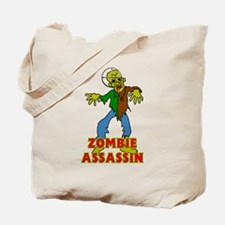 ZOMBIE ASSASSIN Tote Bag