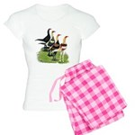 Modern Game Roosters Women's Light Pajamas
