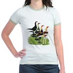 Modern Game Roosters Jr. Ringer T-Shirt