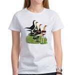 Modern Game Roosters Women's T-Shirt