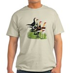 Modern Game Roosters Light T-Shirt